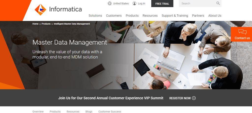 Informatica Data Management Tool