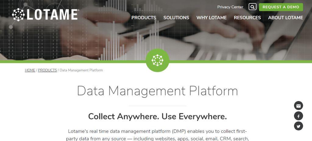 Lotame Data Management Tool