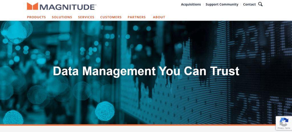 Magnitude Data Management Tool