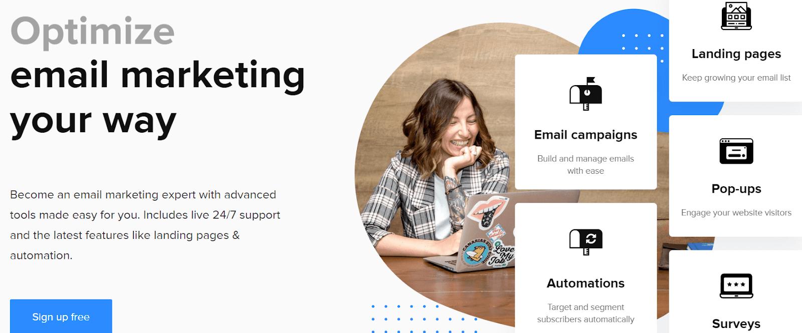 Mailer Lite MailChimp alternative