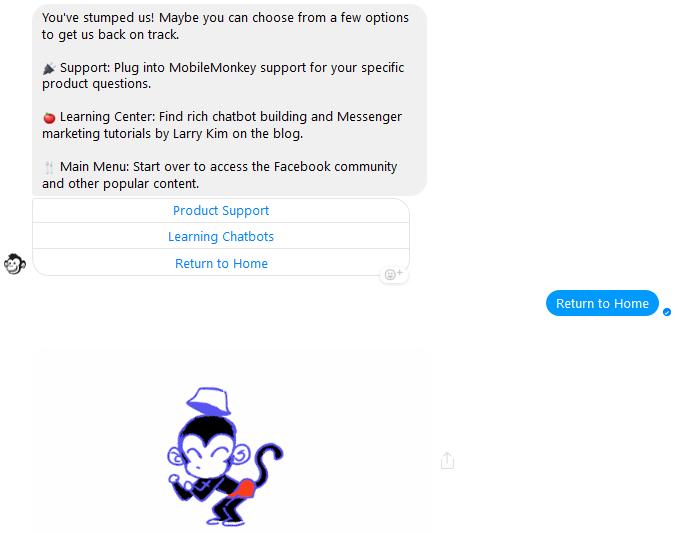MobileMonkey uses emojis
