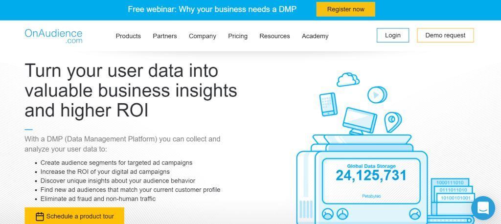OnAudience Data Management Tool