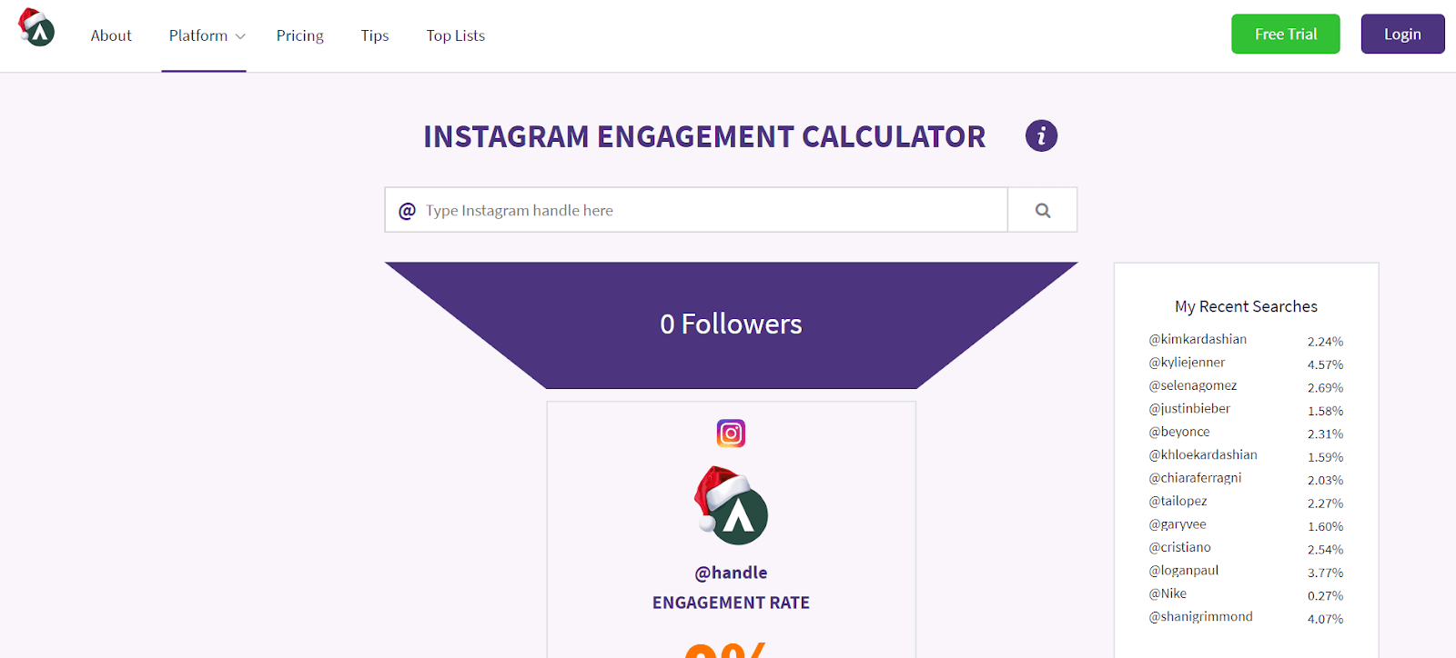 Phlanx Instagram Analytics Tool