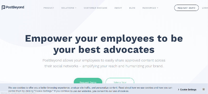 PostBeyond Employee Advocacy Tools