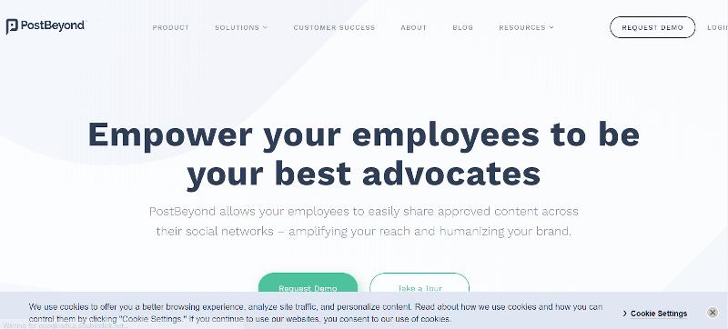 PostBeyond Employee Advocacy Tools