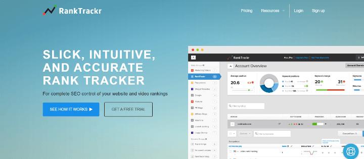 RankTrackr Rank Tracker Tools