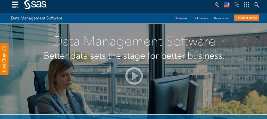 SAS Data Management Tool