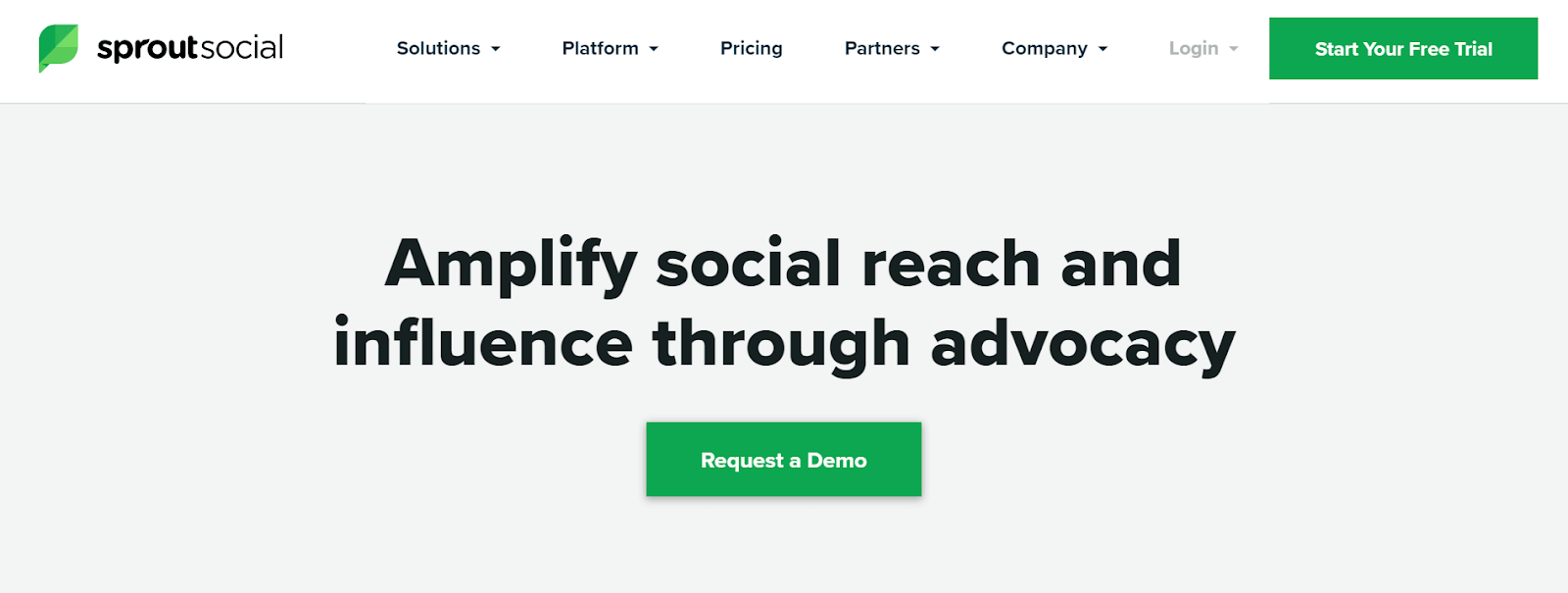 Sprout Social Employee Advocacy Platforms