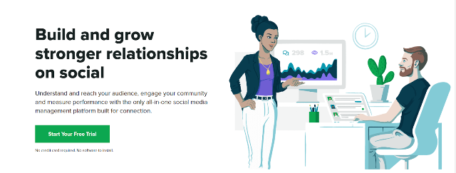 Sprout Social Organic Social Media Reach