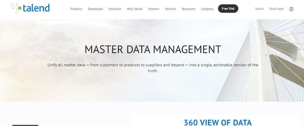 Talend Data Management Tool