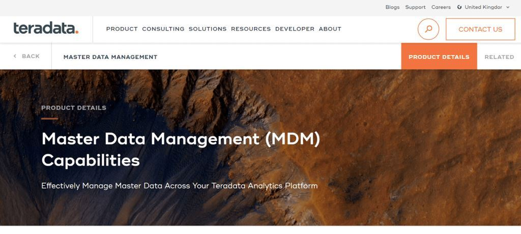 Teradata Data Management Tool