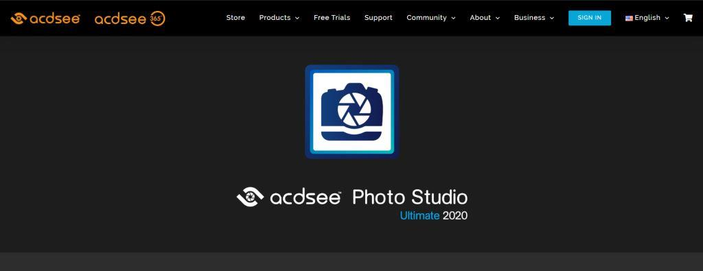 ACDSee Best Photo Editing Software