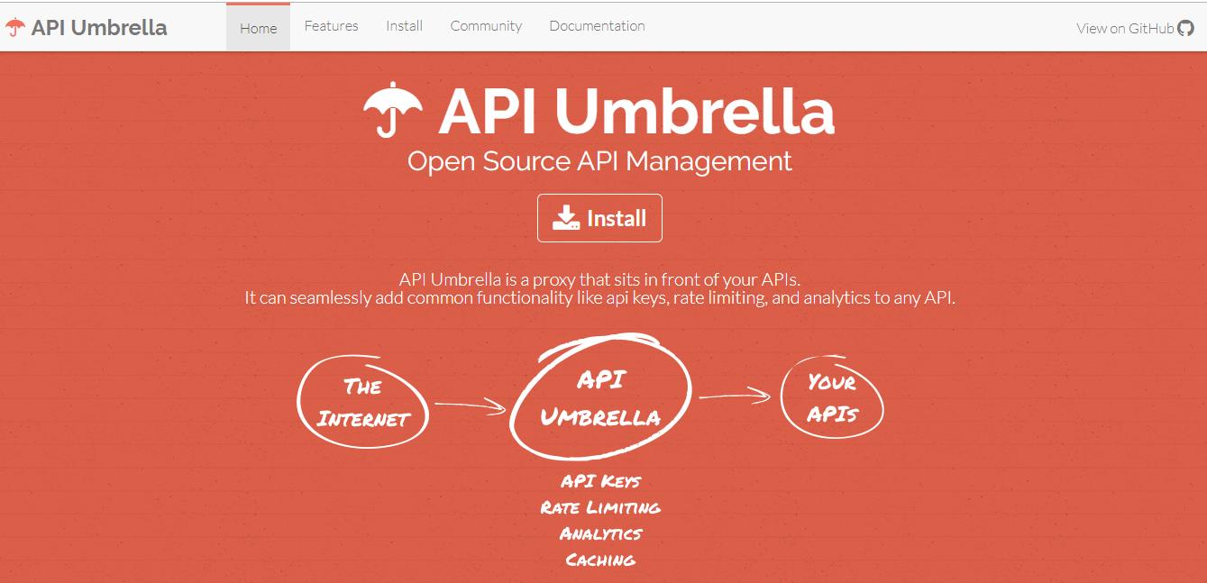 API Umbrella API Management Tools