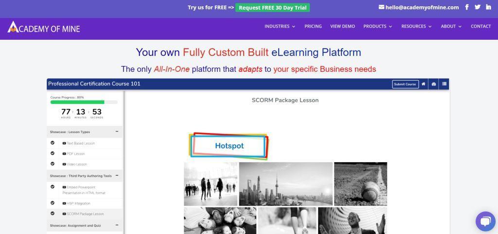 Academy of Mine Best Online Course Platforms