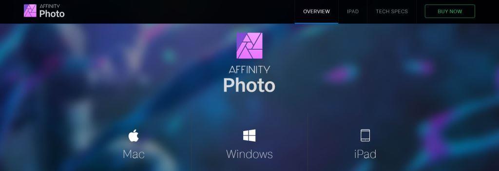 Affinity Photo Best Photo Editing Software