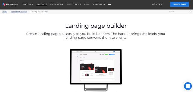 Bannerflow Best Landing Page Builders