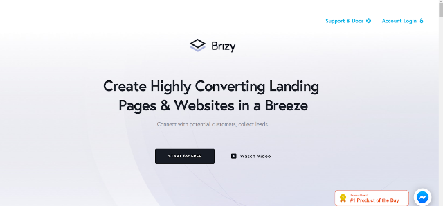 Brizy Best Landing Page Builders