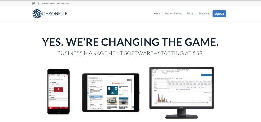 Chronicle Business Management Software