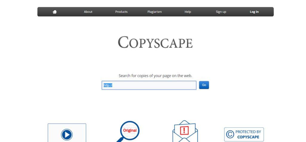 Copyscape Content Writing Tool