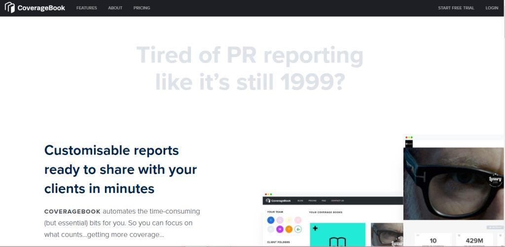 CoverageBook Online PR Tool