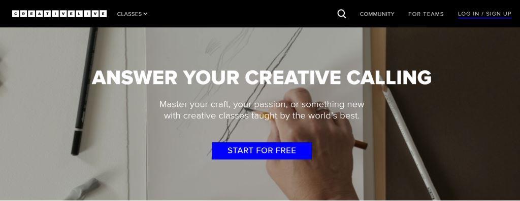 Creativelive Best Online Course Platforms