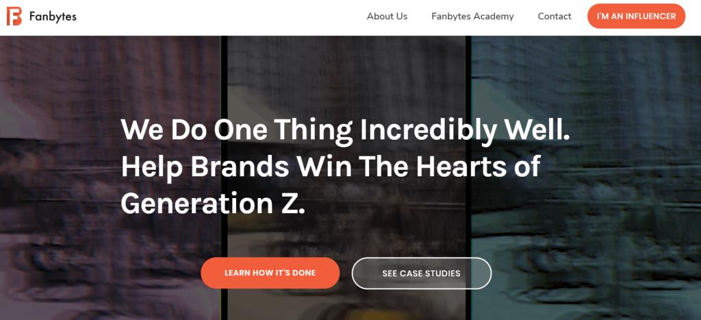 Fanbytes Influencer Marketing Agency