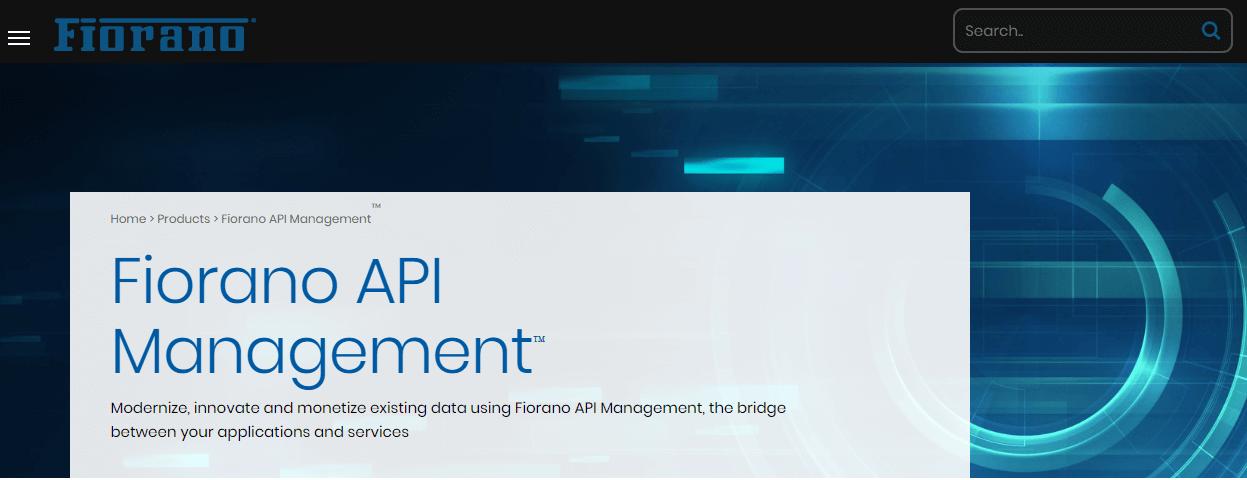Fiorano API Management Tools