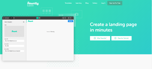 Flauntly Best Landing Page Builders