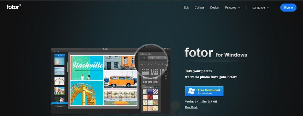 Fotor Best Photo Editing Software