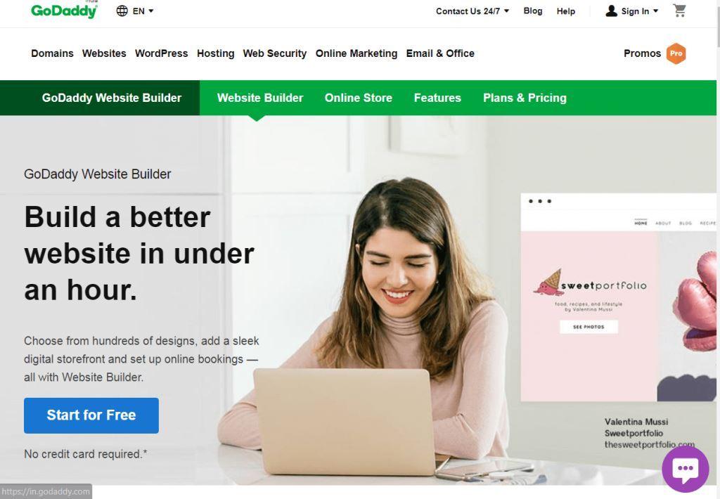 GoDaddy-Best-Website-Builder