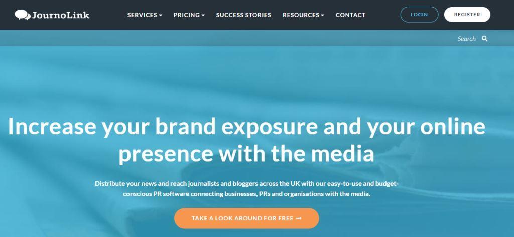 JournoLink Online PR Tool