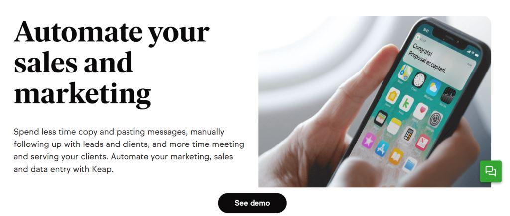Keap Marketing Automation Software