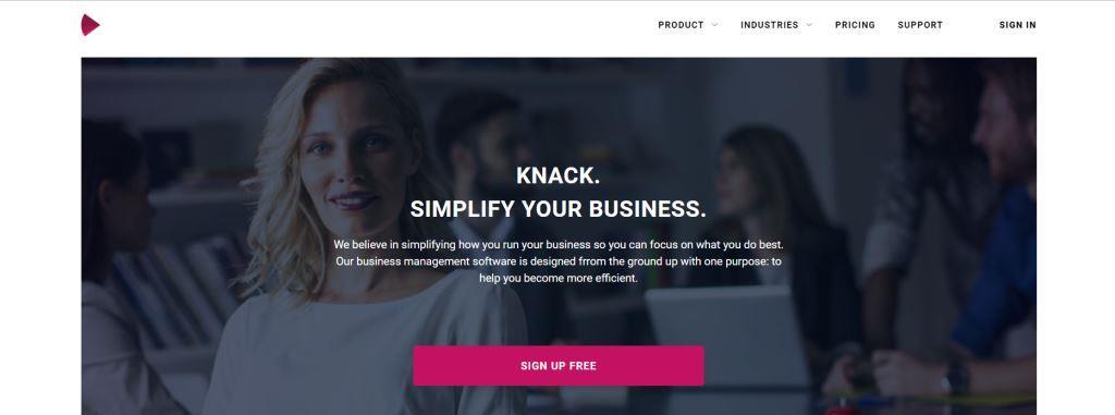 Knack Business Management Software