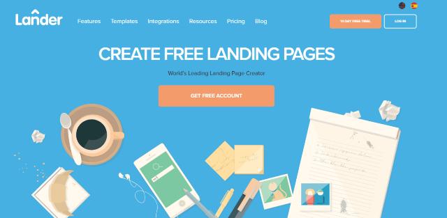 Lander Best Landing Page Builders
