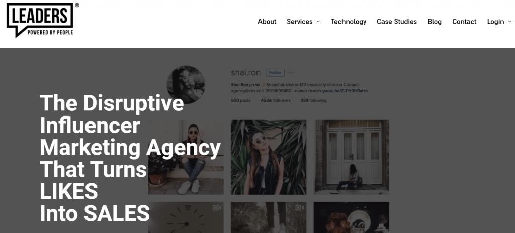 Leaders Influencer Marketing Agency