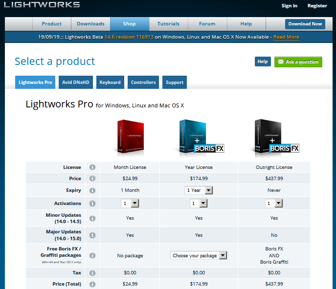 Lightworks Best Free Video Editing Software online