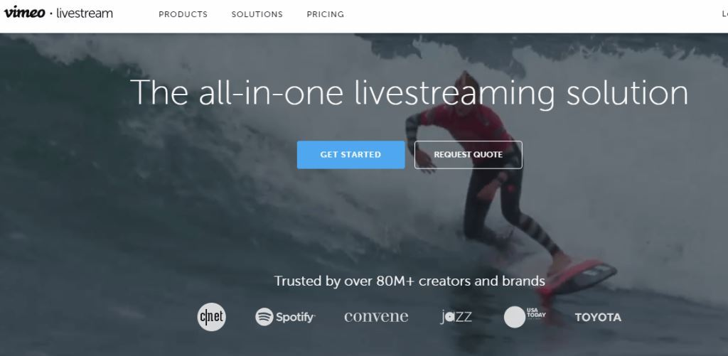 Livestream-Webinar-Hosting-Website