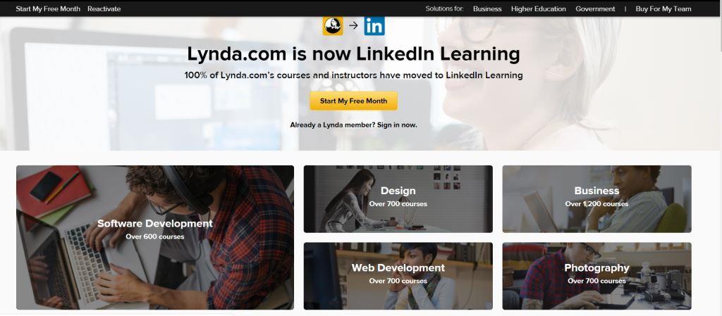 Lynda Best Online Course Platforms