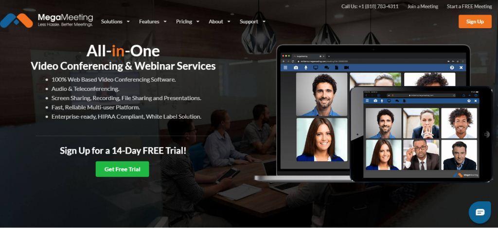 MegaMeeting Online Meeting Tools