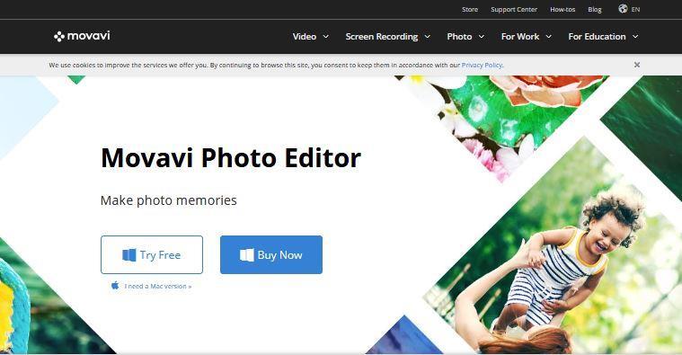 Movavi Best Photo Editing Software