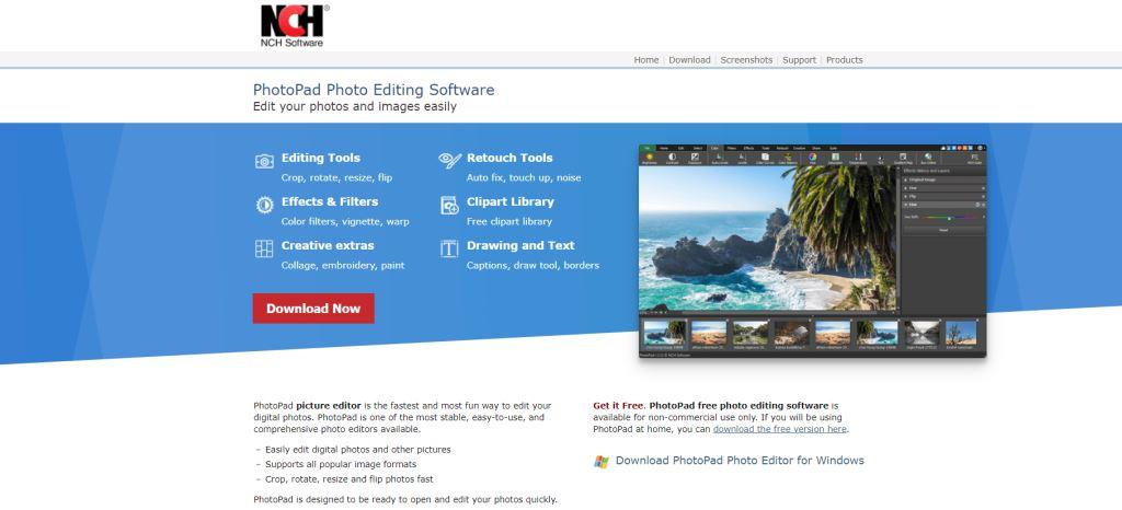 NCH Software Best Photo Editing Software