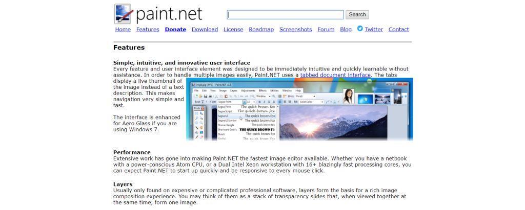 Paint.NET Best Photo Editing Software