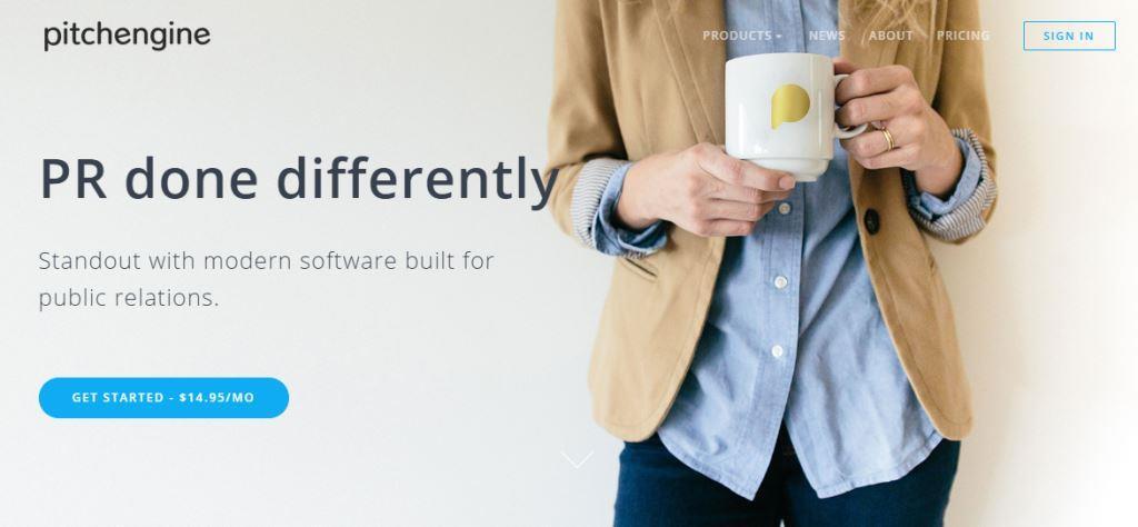 Pitchengine Online PR Tool