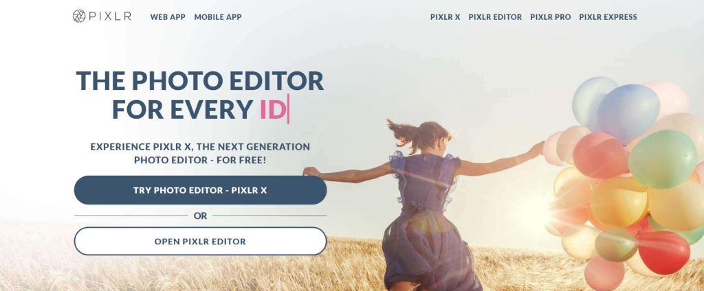Pixlr Editor Best Photo Editing Software