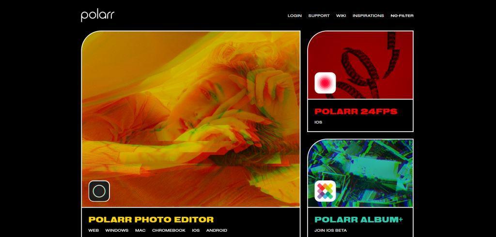 Polarr Best Photo Editing Software