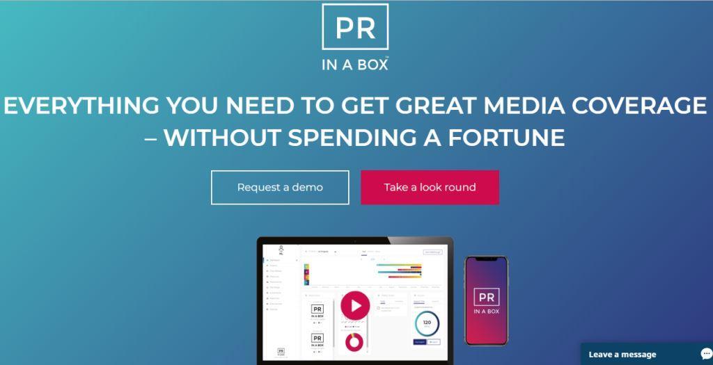 Prinabox Online PR Tool