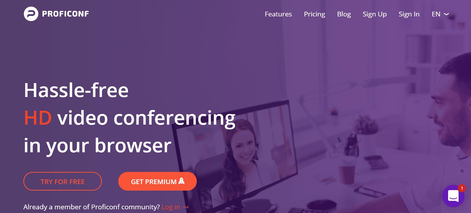 ProfiConf Web Conferencing Tool