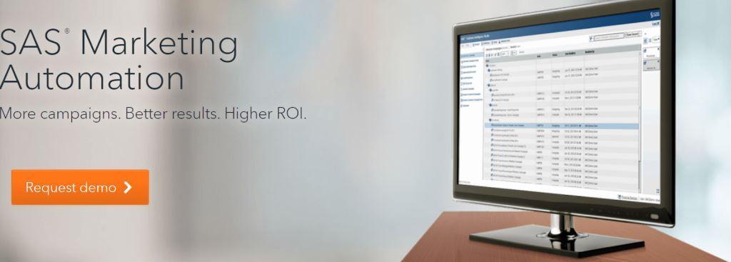 SAS Marketing Automation Software
