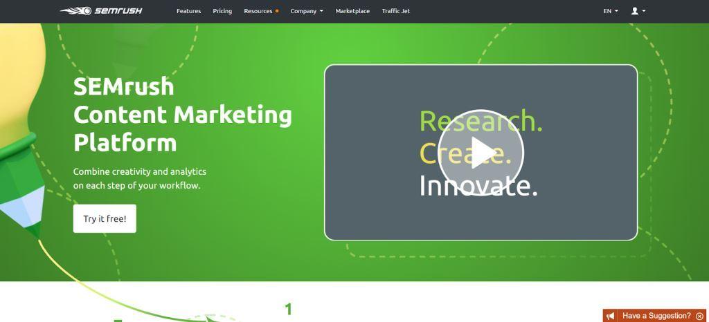 SEMrush-Content-Marketing-Platform