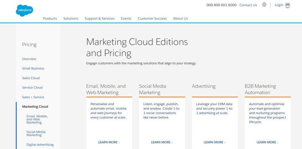 Salesforce Email Studio ActiveCampaign Alternative